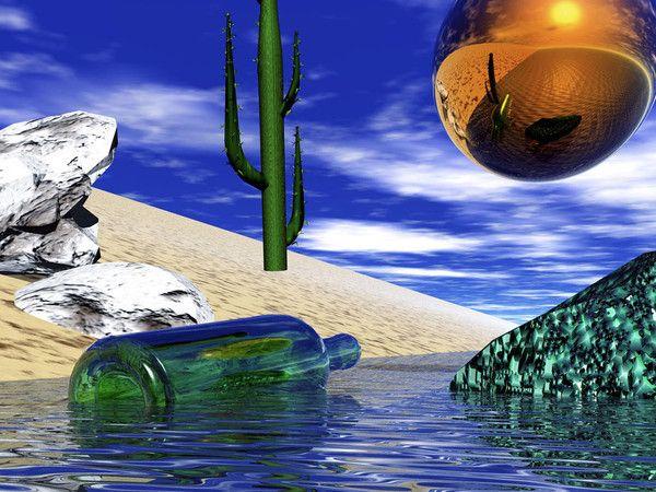fond d ecran paysage futuriste - Page 5