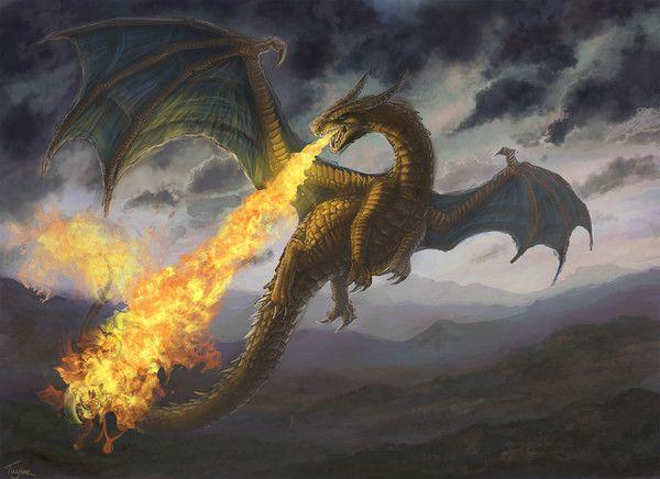 Les dragons  - Page 2 E2a51e9f