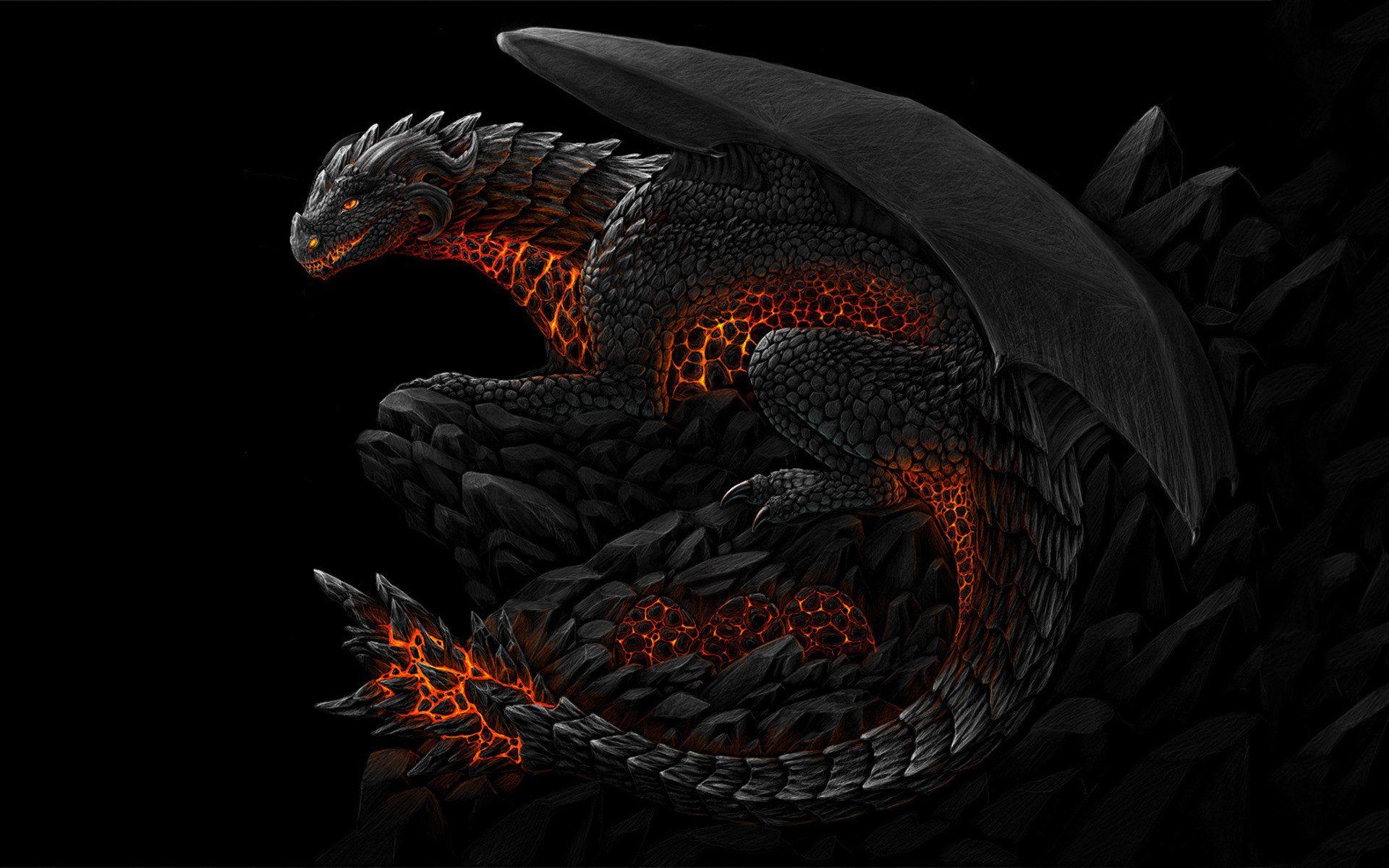 fond d ecran dragon